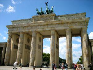 MR Fahrt nach Berlin - Brandenburger Tor