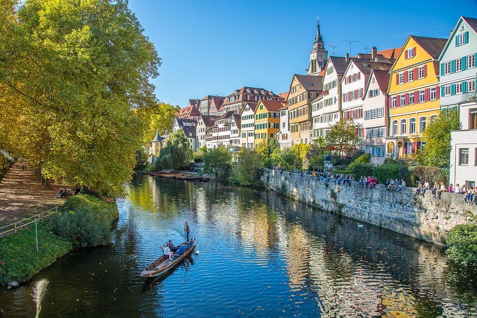 Fahrt nach Tübingen